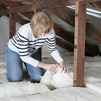 DIY ceiling insulation batts